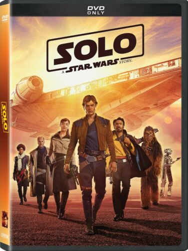 Solo: A Star Wars Story (DVD, 2018) New & Sealed FREE Shipping!