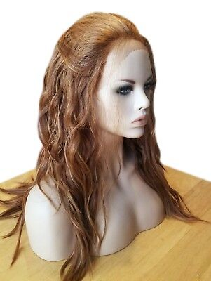 Forever Young Urban Gypsy LACE FRONT Heat Safe Wig (Color 27C/29 Red) Wavy Long