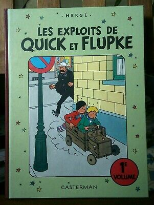 Les exploits de Quick et Flupke - 1er volume - Hergé - 2011