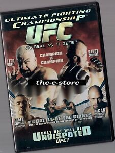UFC - Ultimate Fighting Championship - DVD - 44. Undisputed.
