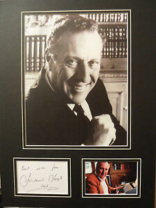 FREDERICK-FORSYTH-Signed-16x12-Photo-Display-THE-DAY-OF-THE-JACKAL-COA