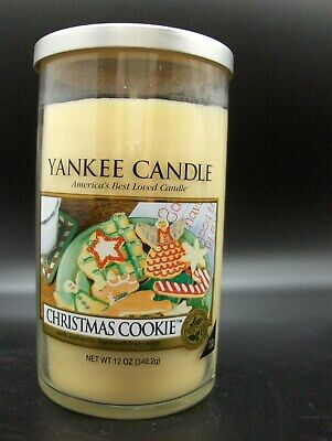 Yankee Candle Tall 12 Oz Tumbler CHRISTMAS COOKIE New Free Shipping