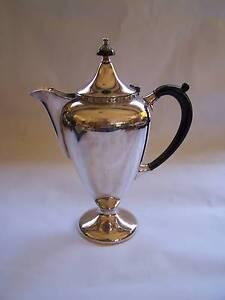 Art Deco EPNS Coffee Pot Du Barry CAN POST Wynyard Waratah Area Preview