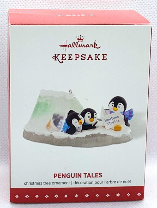 Hallmark Keepsake Playful Penguins Penguin Tales Ornament 2015 B