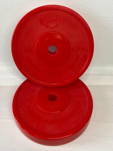 5 LB BUMPER PLATE SET (2) PLATES, TECHNIQUE