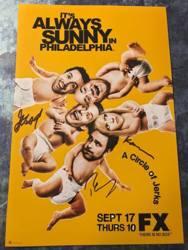 Dennis Mac Dee * IT'S ALWAYS SUNNY IN PHILADELPHIA * Signed 12x18 Photo S4 COA