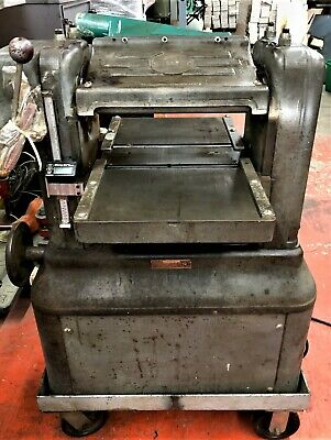 Rockwell Delta Wood Planer 13 X 6 120 Volts In Good Condition