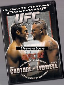 UFC - Ultimate Fighting Championship - DVD - 52 Couture Lindell