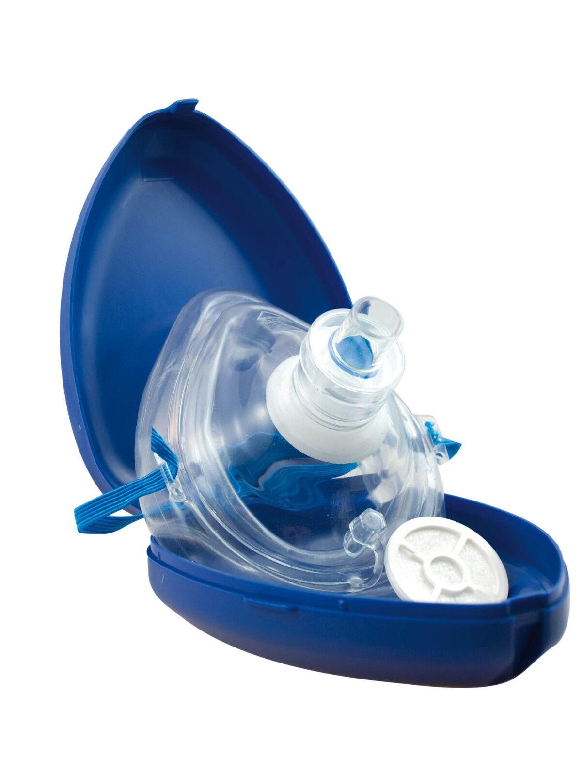 1x AERObag® Taschenmaske (Pocket Mask Beatmungshilfe Beatmungsmaske Reanimation)