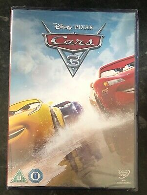 CARS 3 DISNEY PIXAR DVD BRAND NEW & FACTORY SEALED MINT CONDITION