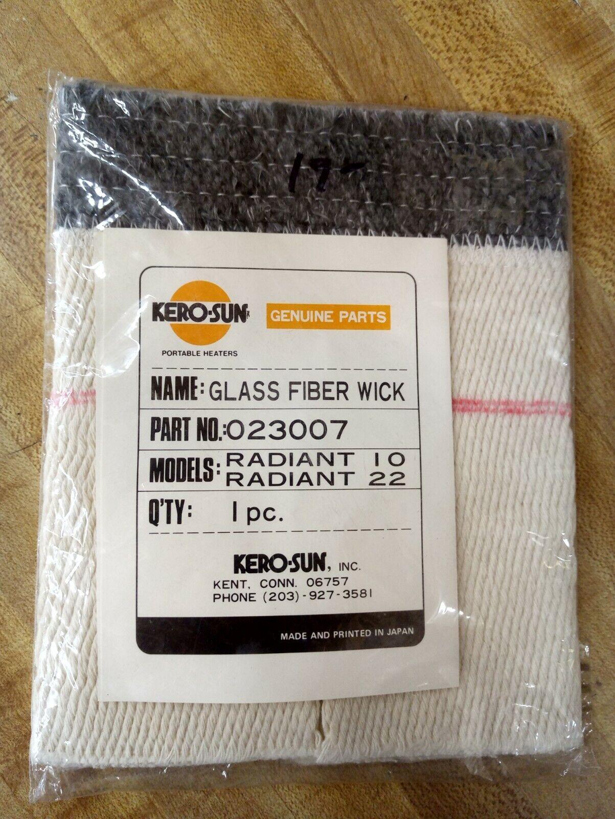 KEROSUN GLASS FIBER WICK HEATER WICK RADIANT 10,22 023007