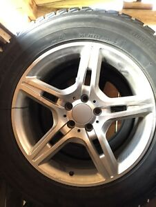 Winter rims and tires for Mercedes SUV