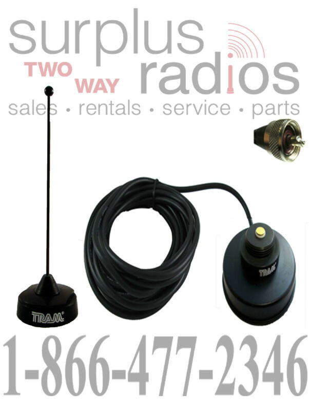 BLACK VHF MAGNET MOUNT ANTENNA KIT MOBILE KENWOOD TK760 TK780 TK7160 TK7180