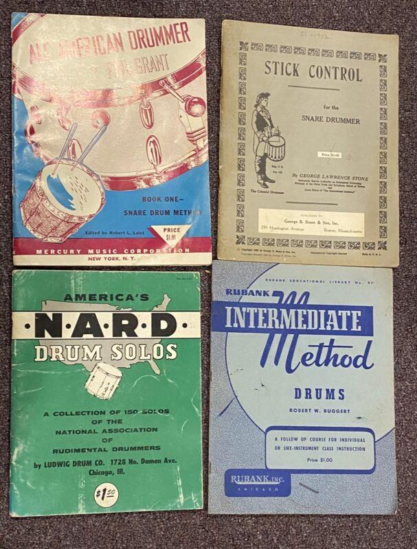 Vintage Drum Books