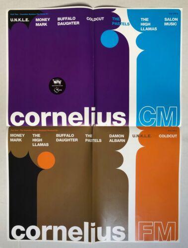 CORNELIUS CM FM Remixes 1999 Matador US PROMO POSTER Keigo Oyamada FANTASMA