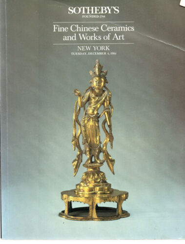 CHINESE Ceramics & WoA  Furniture Ceramics Archaic Bronze Jade Sotheby