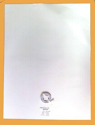 Lamina antivaho para espejo de baño calefacción para espejos 60 x 80...