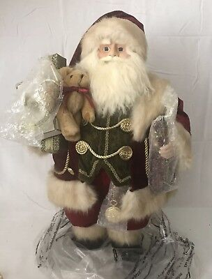 Kirkland Signature Decorative Santa  Claus Figure Large 24