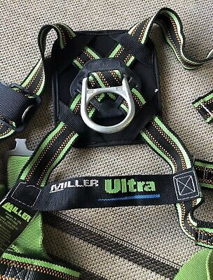 Miller Ultra Safety Harness -3 D Rings- Quick Connect -universal Size