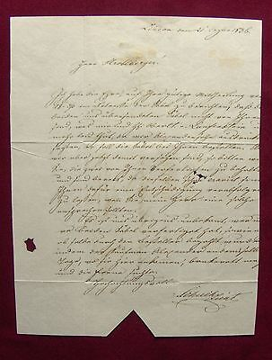 1836 Lindau München WAFFENFABRIK Stroblberger - SÄBEL für BAYERISCHE ARMEE