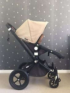 Bugaboo Cameleon Pram with leather bumper bar Tallai Gold Coast City Preview