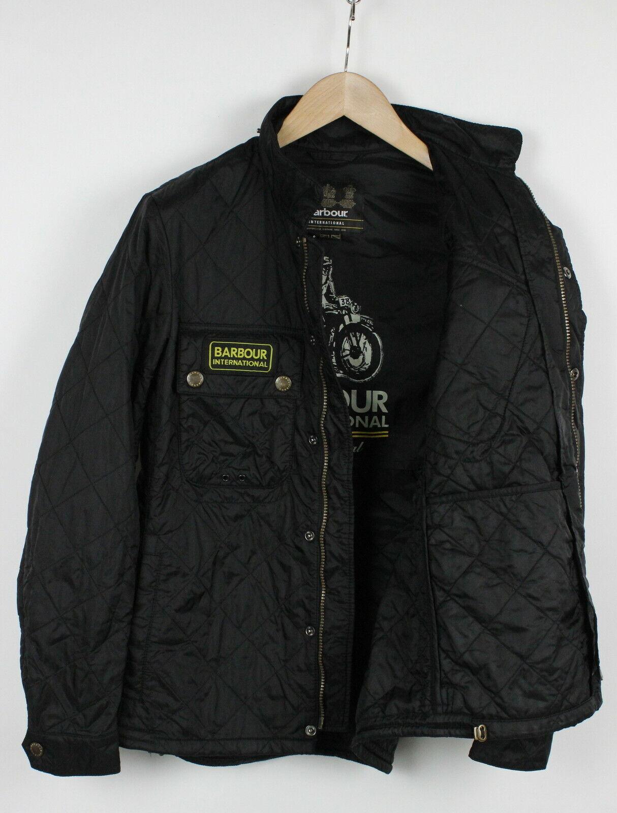 Barbour international tankerville homme s matelassé polyamide coque veste