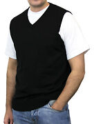 Black Sweater Vest