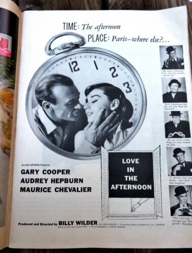 1957 Movie PRINT AD Wilder