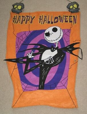 Jack Happy Halloween Disney Shopping Nightmare Before Christmas Felt Banner 31