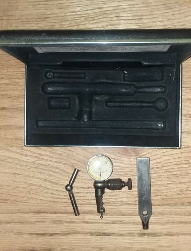 Starrett Last Word #711 Dial Indicator Includes 1 Universal Shank and Case