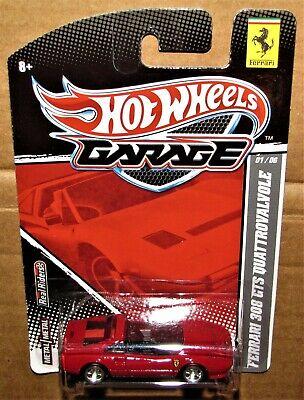 Hot Wheels-Garage Series-Ferrari 308 GTS Quattrovalvole w' Real Riders-NIP-2011