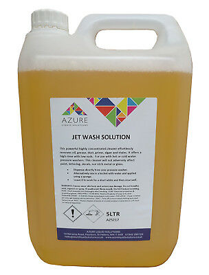 Powerful Jet Wash Solution Car Shampoo Pressure Washer Liquid Concentrated – 5L