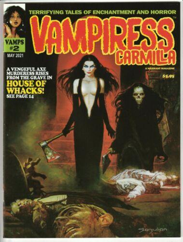 VAMPIRESS CARMILLA MAGAZINE #2 MAY 2021 NM 9.4 (UNREAD) WARRANT PUBS VAMPIRELLA