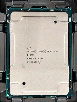 Intel CD8067303406600 SR3B8 Xeon Platinum 8160M Processor 33M Cache, 2.10GHz NEW