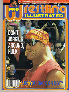 PRO-WRESTLING-ILLUSTRATED-JULY-1993-HULK-HOGAN-BRET-HART-RIC-FLAIR-RICK-RUDE-WWE