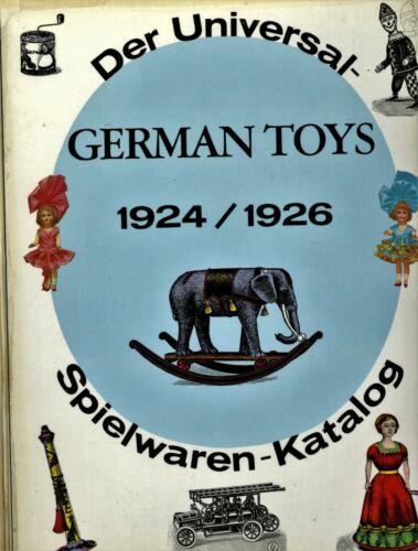 1924-1926 German Toys Dolls Bears - Catalogue Reprint / Massive Illustrated Book
