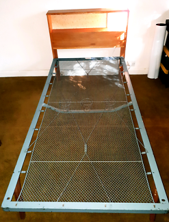 Vintage single bed frame for sale (mattress optional)