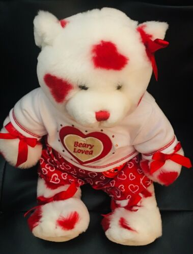 Love Teddy Bear 7 Heart Patches Build a Bear Condo Valentines Day