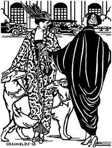 Folkwear Poiret Cocoon Coat Jacket 1900's Era Sewing Pattern folkwear503