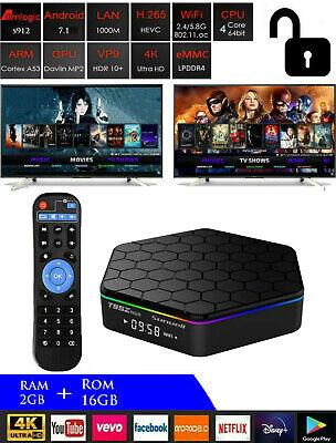 T95Z Plus 7.1 NOUGAT S912 Octa Core TV Box Bluetooth 4.0 Dual Band Wi-Fi / x96 comprar usado  Enviando para Brazil