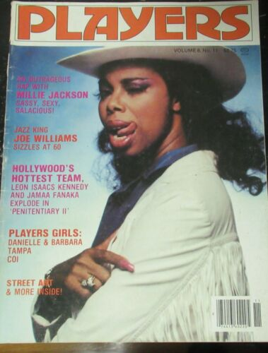 PLAYERS VOLUME 8 # 11 VINTAGE AFRICAN AMERICAN COLLECTABLE MAGAZINE