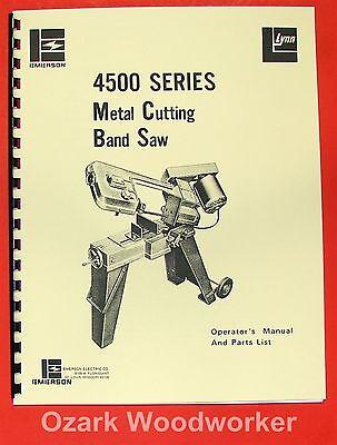 Horizontal Band Saw 5x6 Emerson Jet Enco Craftsman 0365