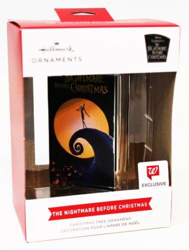 Disney Nightmare Before Christmas Hallmark Ornament 2021 VHS Red Box Walgreens