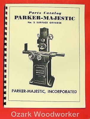 Parker Majestic No.2 Surface Grinder Parts Manual 0502