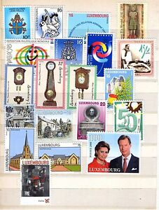 Lussemburgo, Lot recent STAMPS MNH **- 							 							mostra il titolo originale - Italia - Lussemburgo, Lot recent STAMPS MNH **- 							 							mostra il titolo originale - Italia