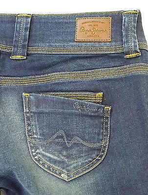 e68fe752bb97e PEPE JEANS VENUS Jeans femme droit regular PL200029H17 denim bleu | eBay