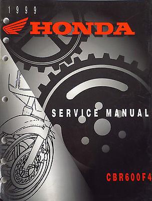 HONDA CBR 600 F4 WORKSHOP SERVICE MANUAL 1999 - 2000.