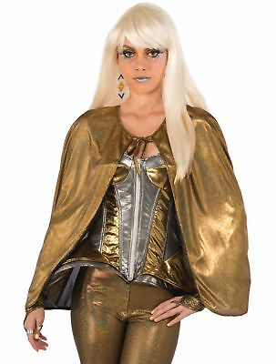 Gold Cape (Metallic Gold Futuristic 25