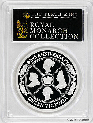 2019-P Silver $1 200th Anniversary Queen Victoria PCGS PR70DCAM - First Strike