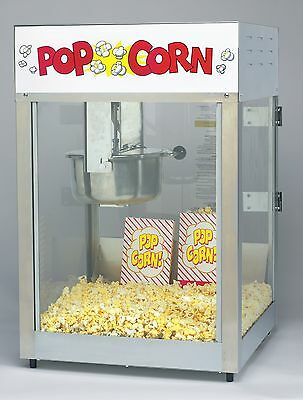 New Lil Maxx 8 Oz. Commercial Popcorn Popper Machine By Gold Medal